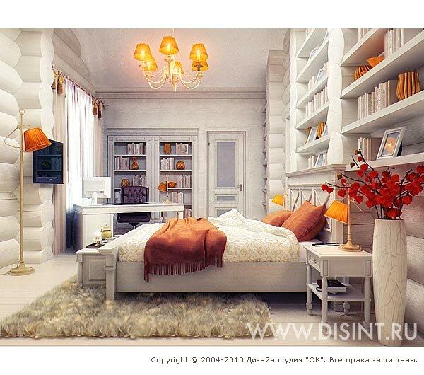 Необычный дизайн спален фото