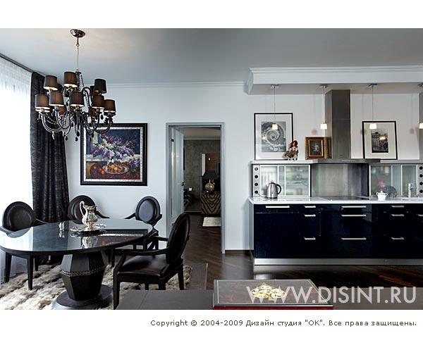 Дизайн кухни-столовой 20 кв.м фото