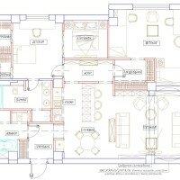 Большой дом. Пример планировки