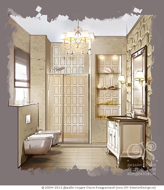 Дизайн интерьеров ванных
