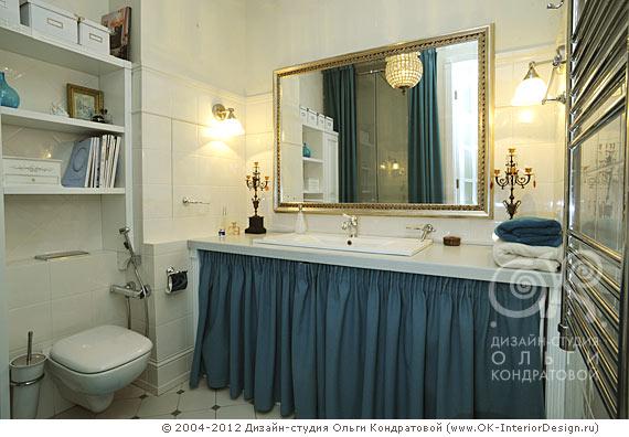 Ванная в квартире на Котельнической наб.