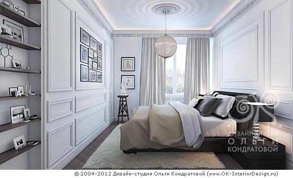 3D дизайн интерьера спальни