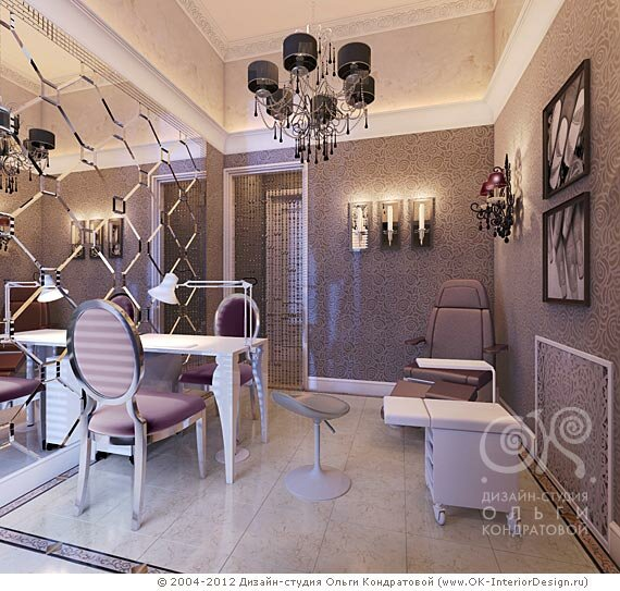 Салон красоты дизайн интерьера фото