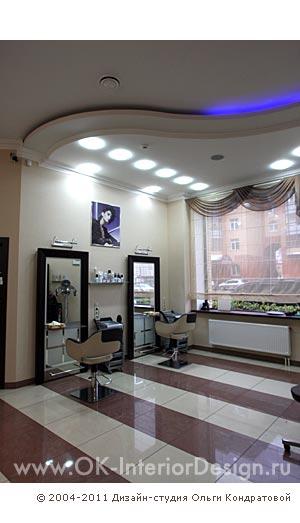 Дизайн интерьера парикмахерских