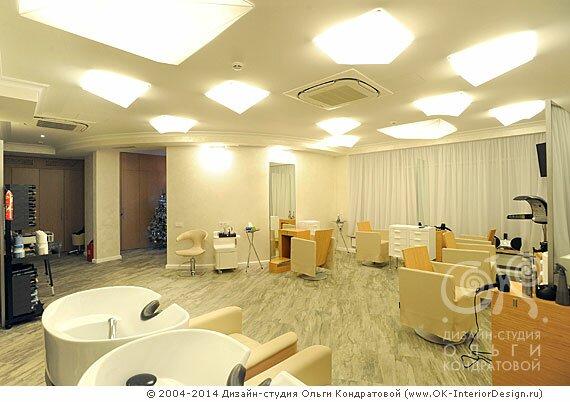 Дизайн парикмахерского зала