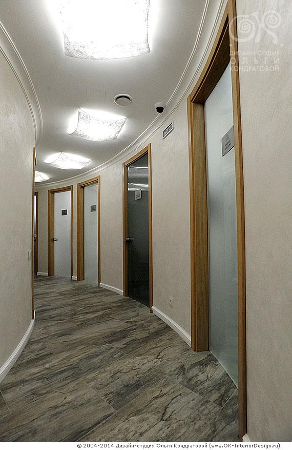 Дизайн коридора в салоне