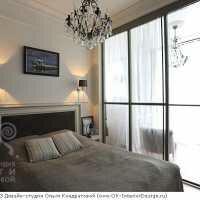 Фото интерьера спальни в квартире на Котельнической