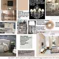 Карта декоративной отделки спальни