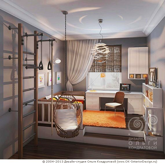 Детская комната для девочки 12 лет в квартире