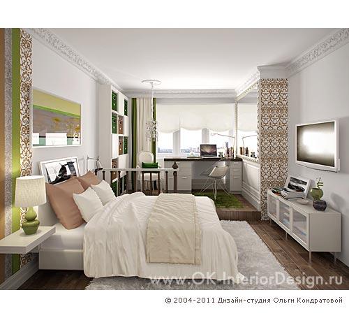 Дизайн детской комнаты для девушки 15-17 лет в квартире