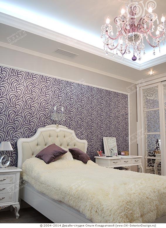 Дизайн детской комнаты для девочки в московской квартире