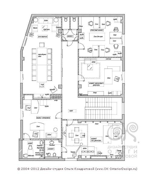 Планировка офисных помещений