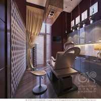 3D дизайн салона красоты (ар-деко)