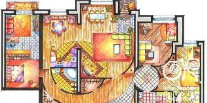 Проектирование интерьера квартиры