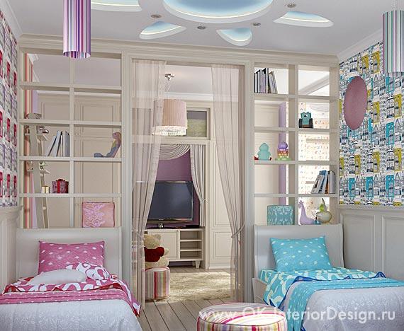 Спальная зона детской