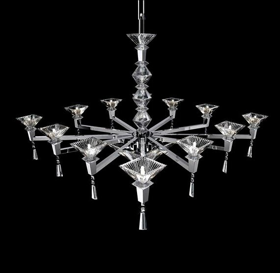 На фото: светильник Crystal Sand от фабрики DILUCE by Beby Group