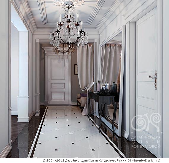Интерьер спальни современная классика