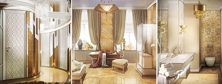 Дизайн салона красоты в Москве