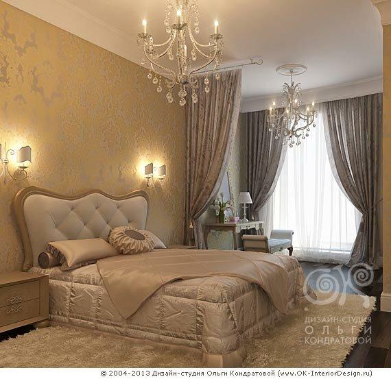 3D дизайн спальни