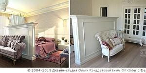 Визуализация и фото спальни