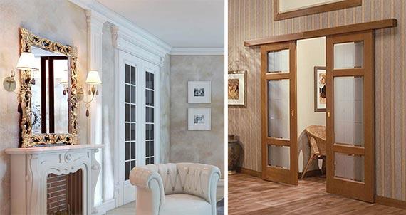Дизайнерские и типовые межкомнатные двери