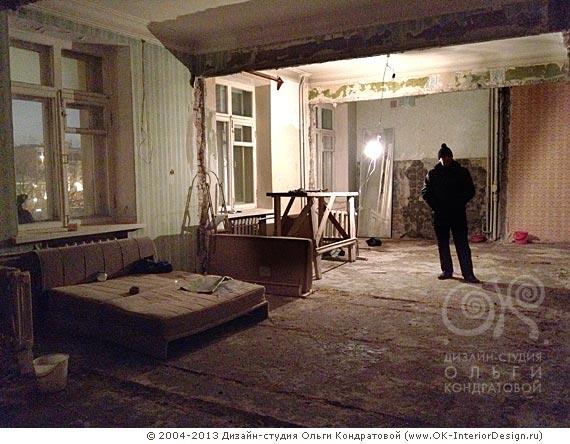 Ремонт в квартире на Котельнической набережной