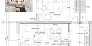 Фрагмент планировочного решения квартиры