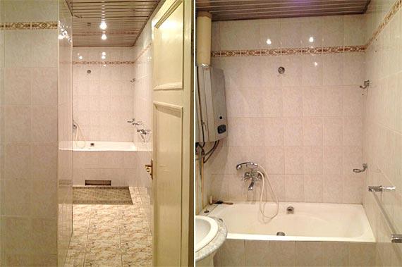 Интерьер ванной ДО ремонта