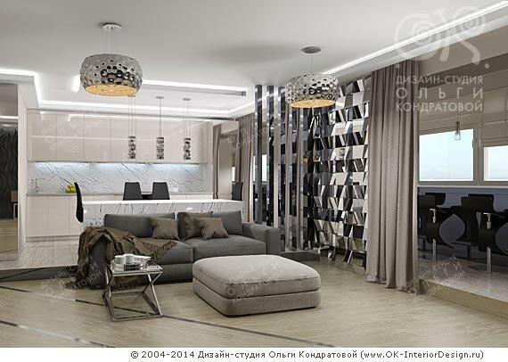 Современные интерьеры от Студии Ольги ...: www.ok-interiordesign.ru/blog/sovremennye-interery.html