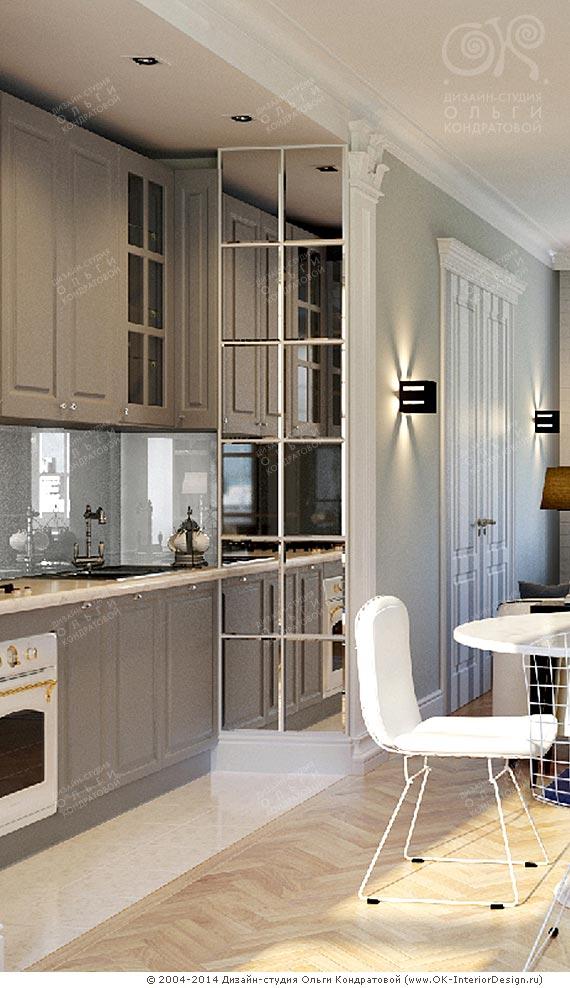 Фото интерьера кухонной зоны