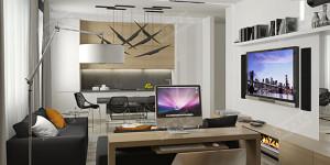Дизайн квартиры для молодого человека