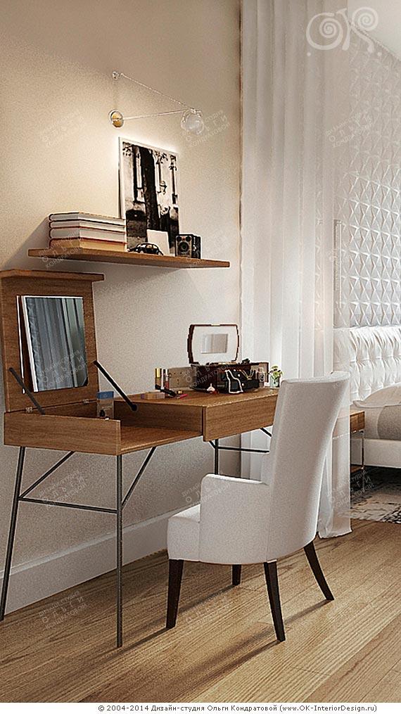 Дизайн интерьера винтажной спальни в духе 60 х - Apoi.ru