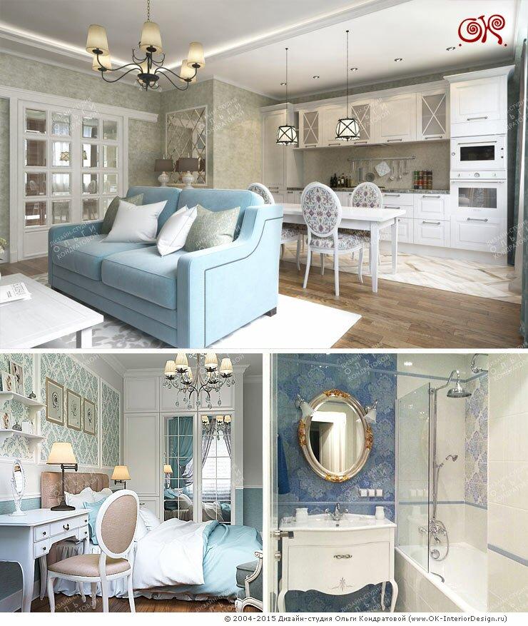 Дизайн и фото после ремонта квартиры на Твардовского. Фото интерьеров