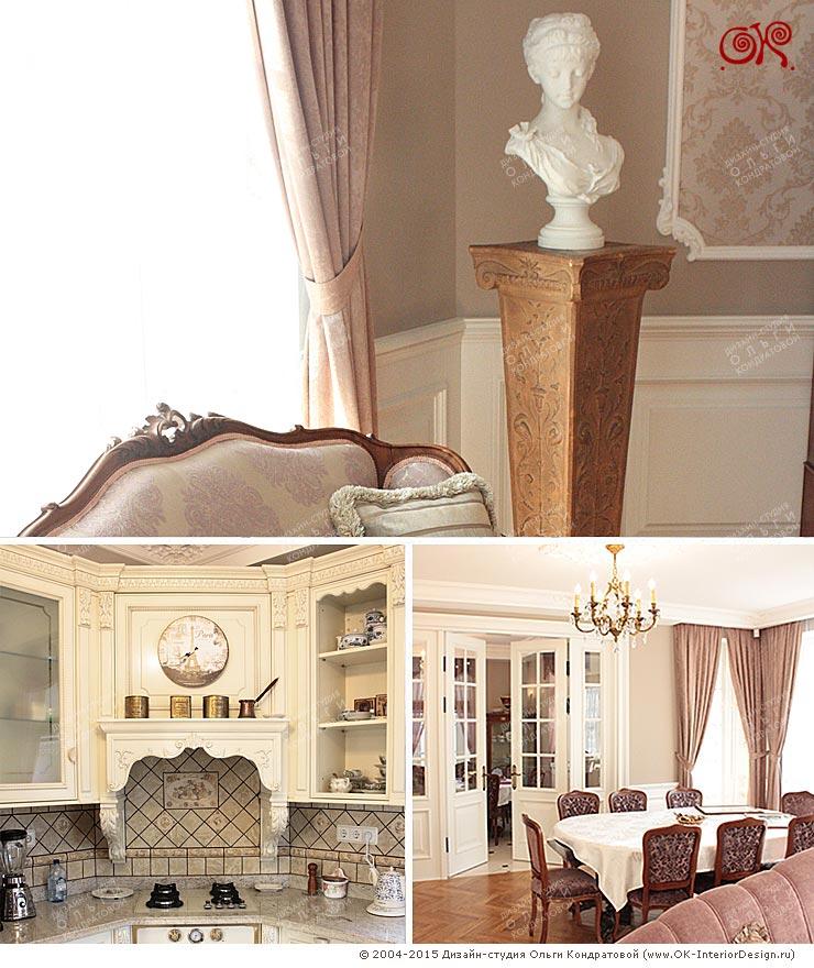 Фото интерьеров дома после ремонта под ключ по дизайн-проекту