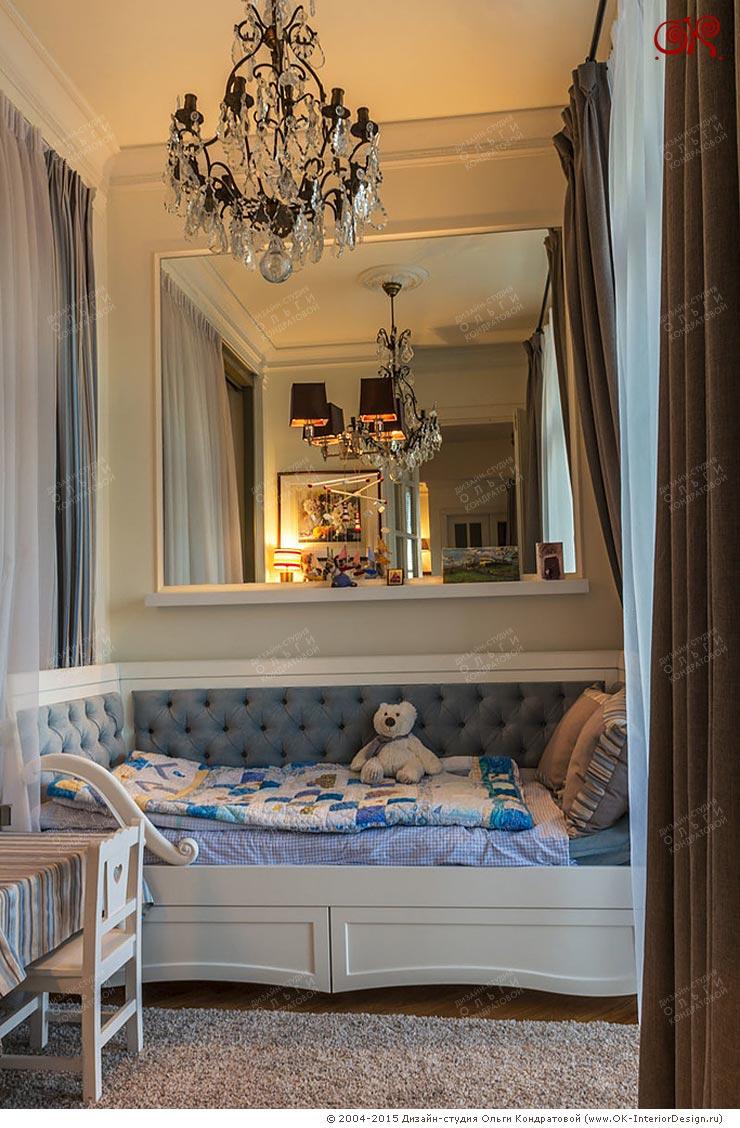 Фото интерьера детской в квартире на Котельнической набережной