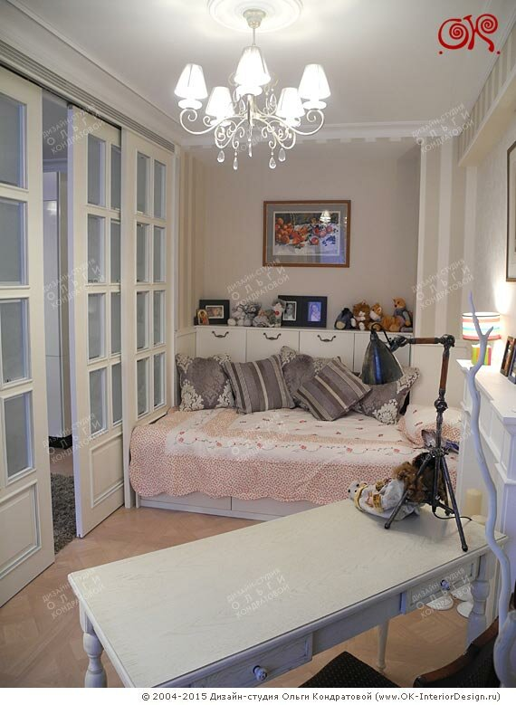 Дизайн детской в однокомнатной квартире