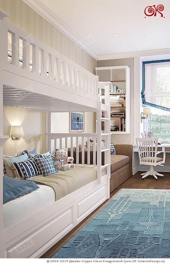 Дизайн детской комнаты фото интерьера для детей 100