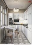 Дизайн маленькой кухни. Фото