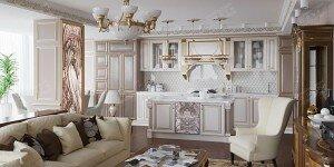Дизайн квартиры-студии 50 кв. м