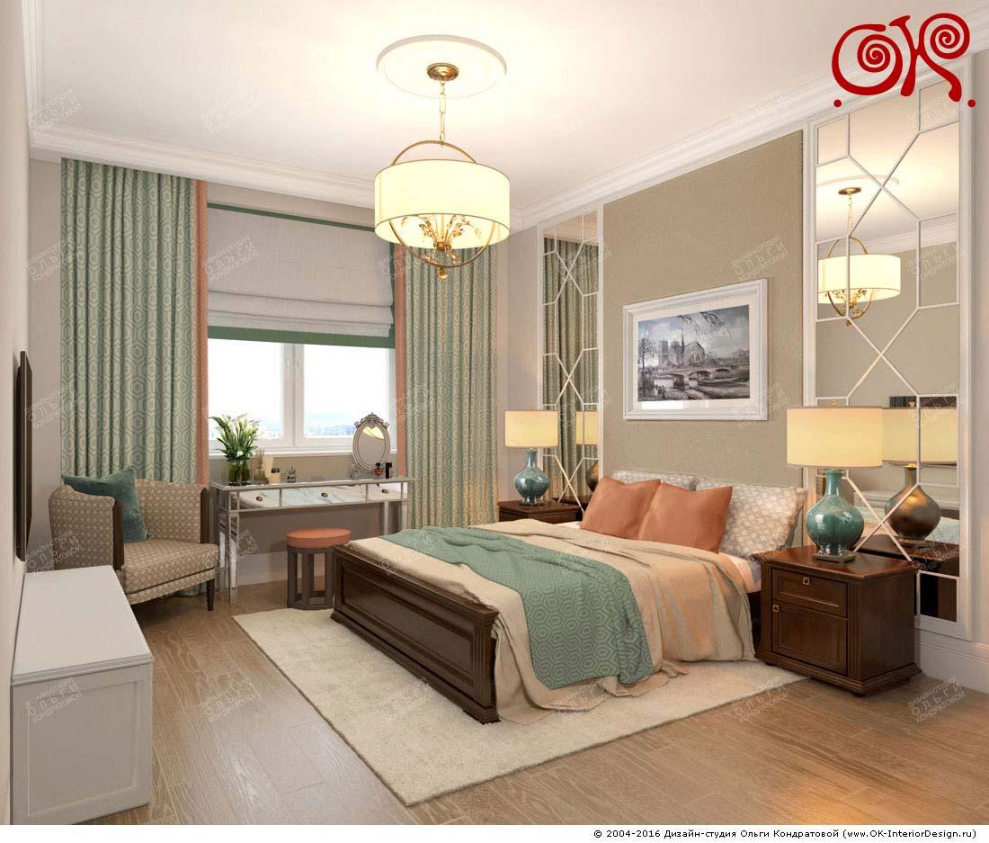 Дизайн маленькой спальни. Фото 2016
