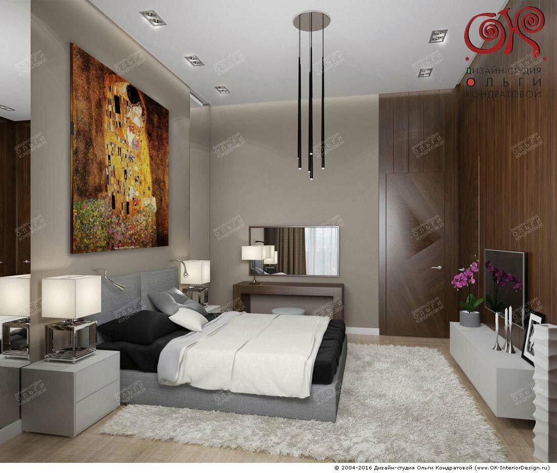 Интерьер спальни в современном стиле: идеи 2016