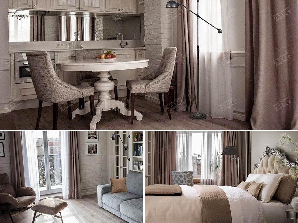Дизайн квартиры на Чистых прудах. Реальные фотографии интерьеров квартиры после ремонта