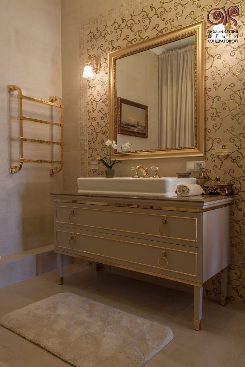 Дизайн классической ванной: фото 2016