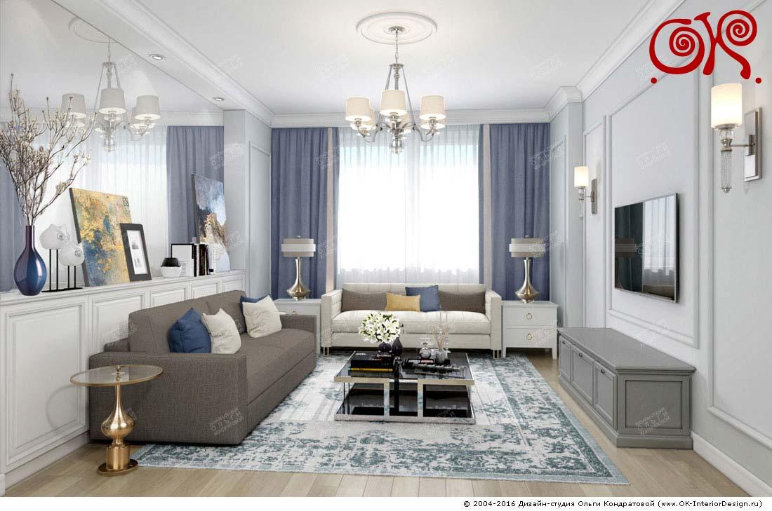 Дизайн маленькой гостиной: фото 2016