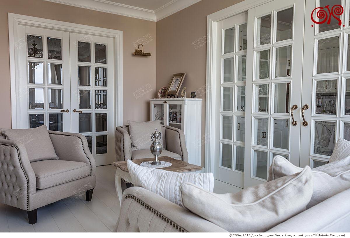 Дизайн гостиной в квартире: фото 2016
