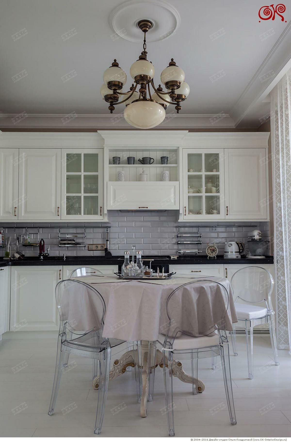 Дизайн светлой кухни в квартире: фото