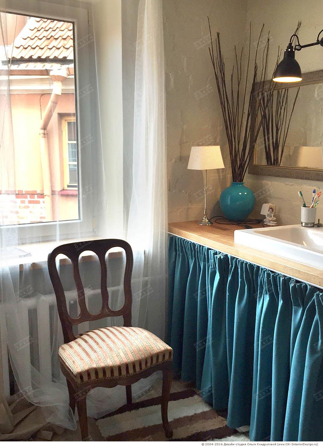 Дизайн ванной с антиквариатом: фото