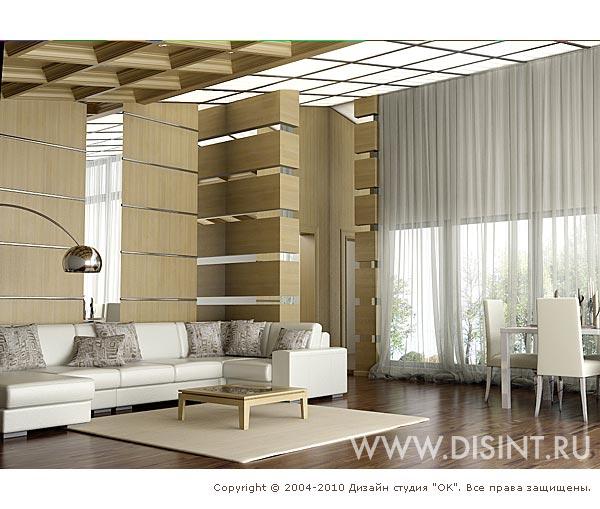 Дизайн бежевой гостиной в доме: фото