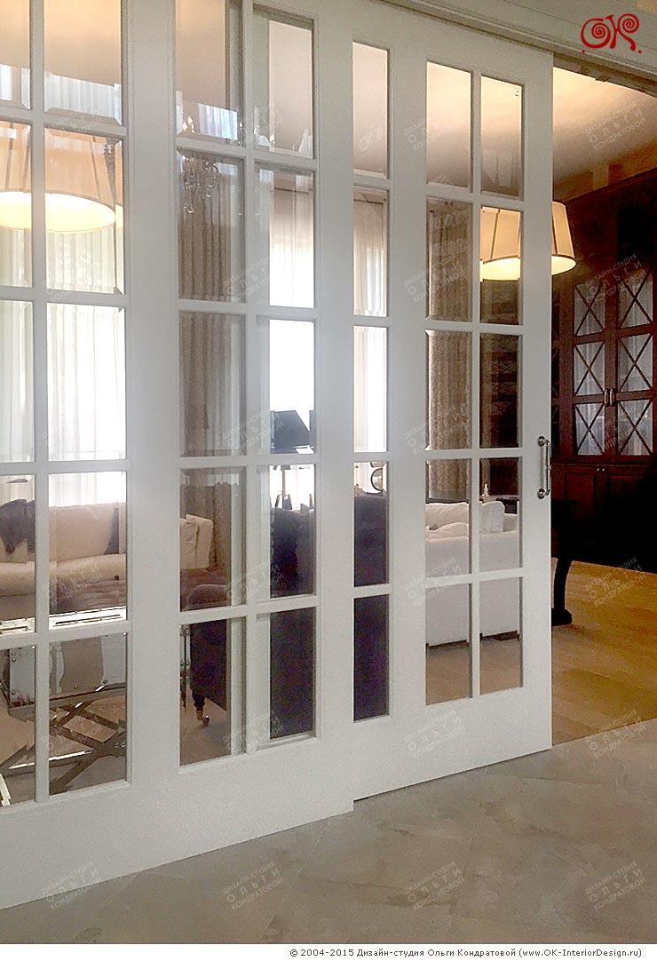 Раздвижные перегородки в доме: фото