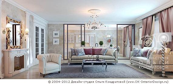 Дизайн квартир с зеркалами